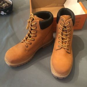 """Timberland 6"""" Soft Toe in Tan size 11M"""